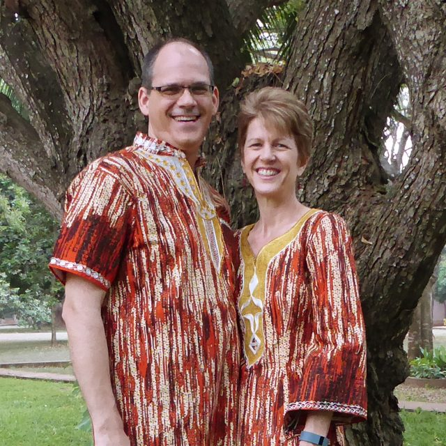 Mark and Victoria Turney, Togo