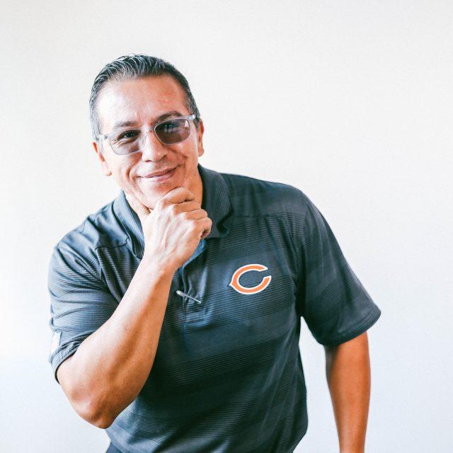 Freddy Flores, Men's Group - Irving Park