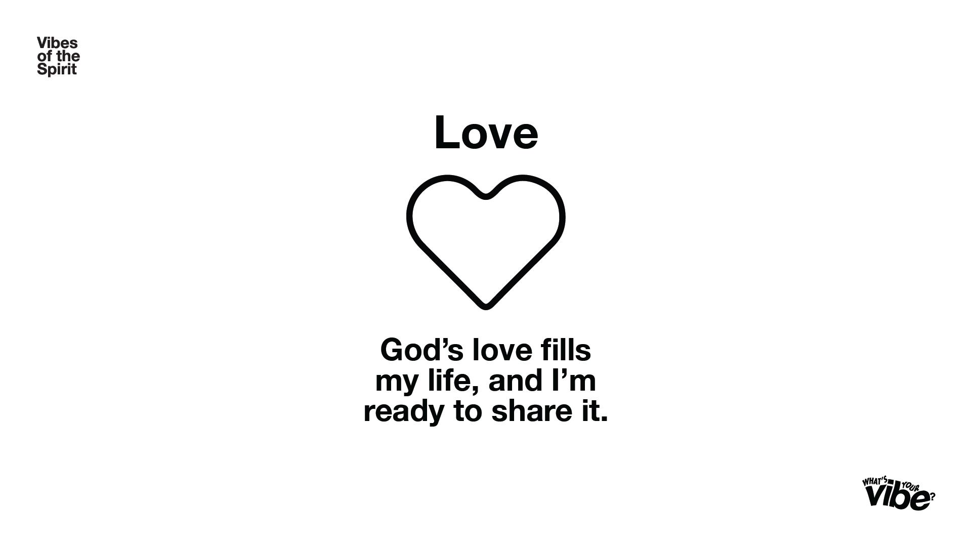 Love Declaration Card