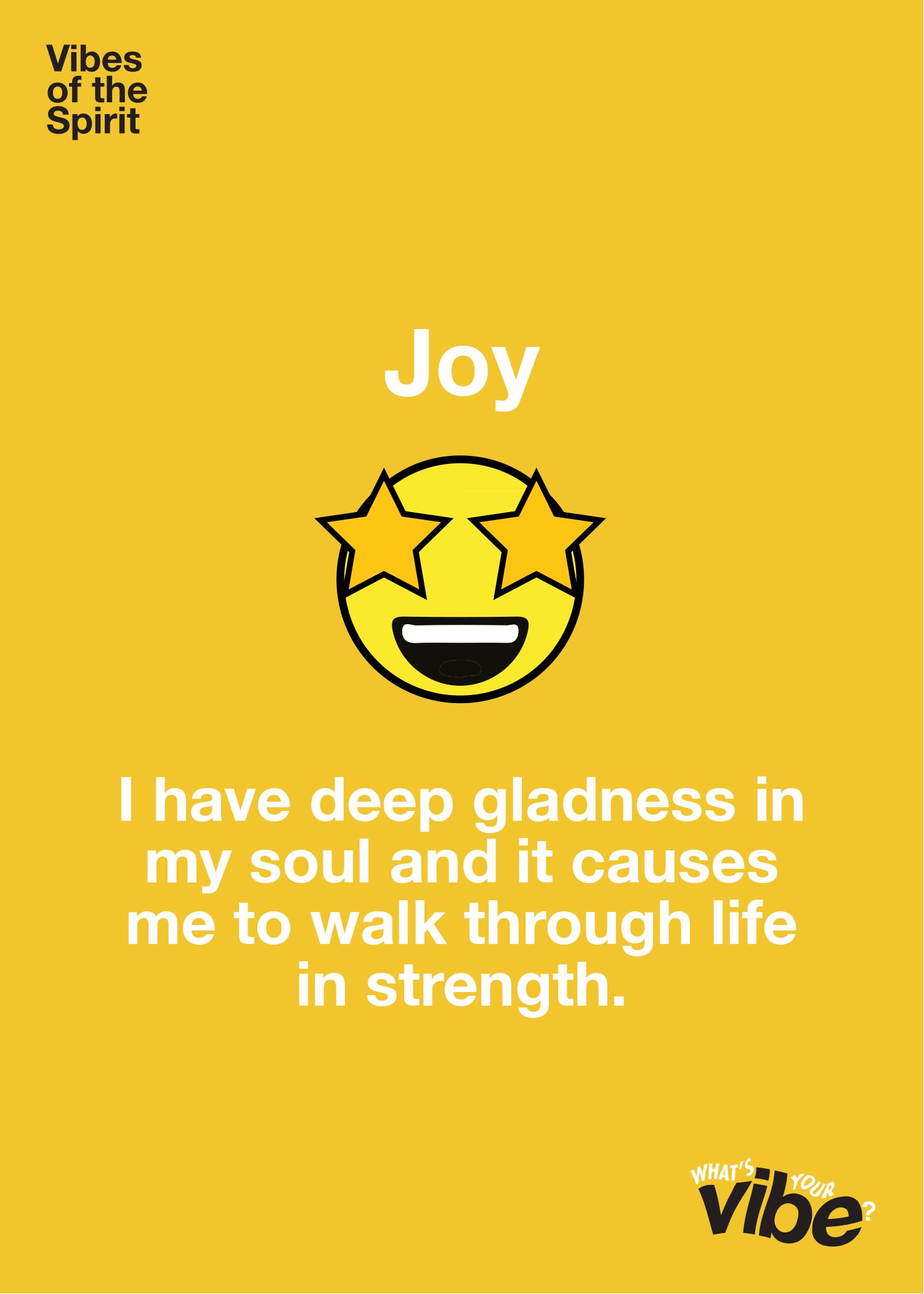 Joy Declaration Card