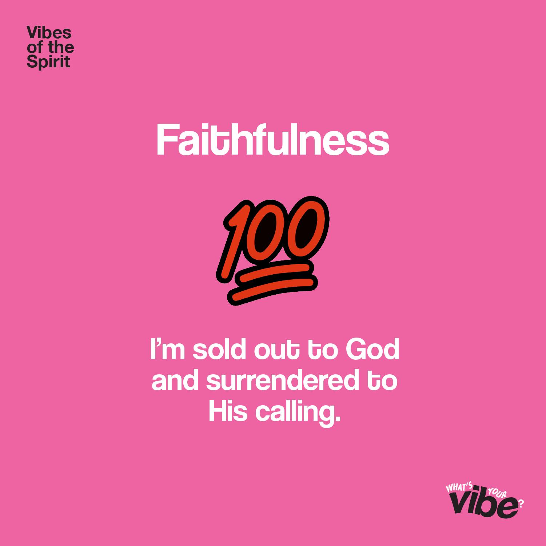 Faithfulness Declaration Card