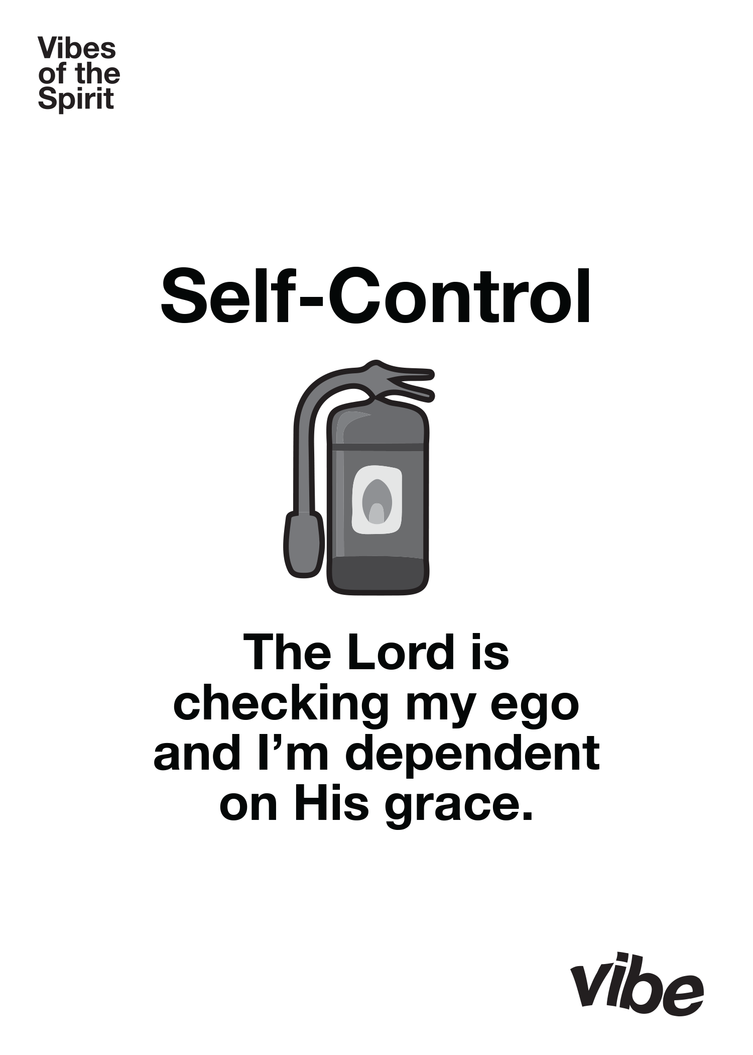 Self-Control Declaration Card