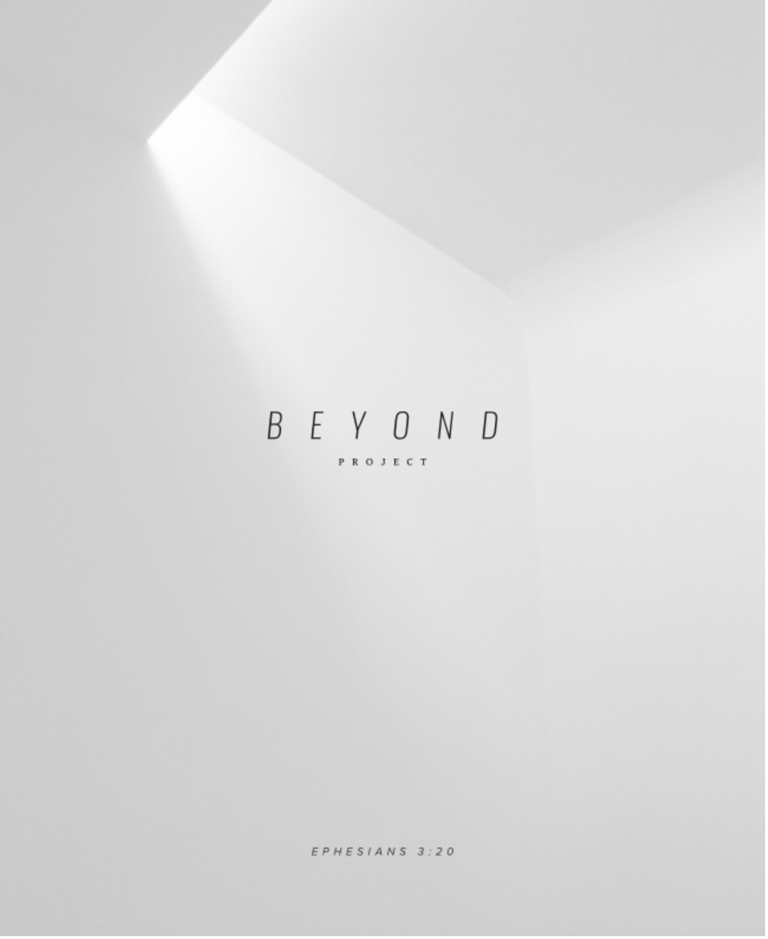 Beyond Booklet Cover